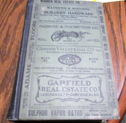 1918 ROCHESTER NY GENERAL RESIDENTIAL AND BUSINESS DIRECTORY