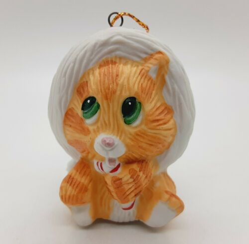 Forget Me Not American Greetings Kitty Kringle Ornament