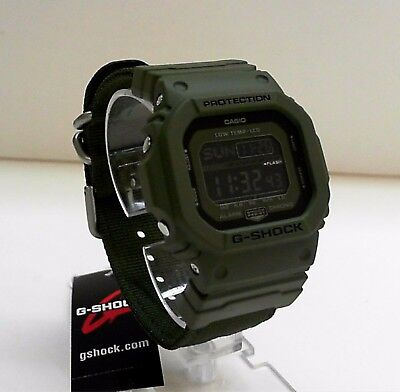 New Casio G-Shock G-LIDE Cloth Band World Time Watch GLS-5600CL-3