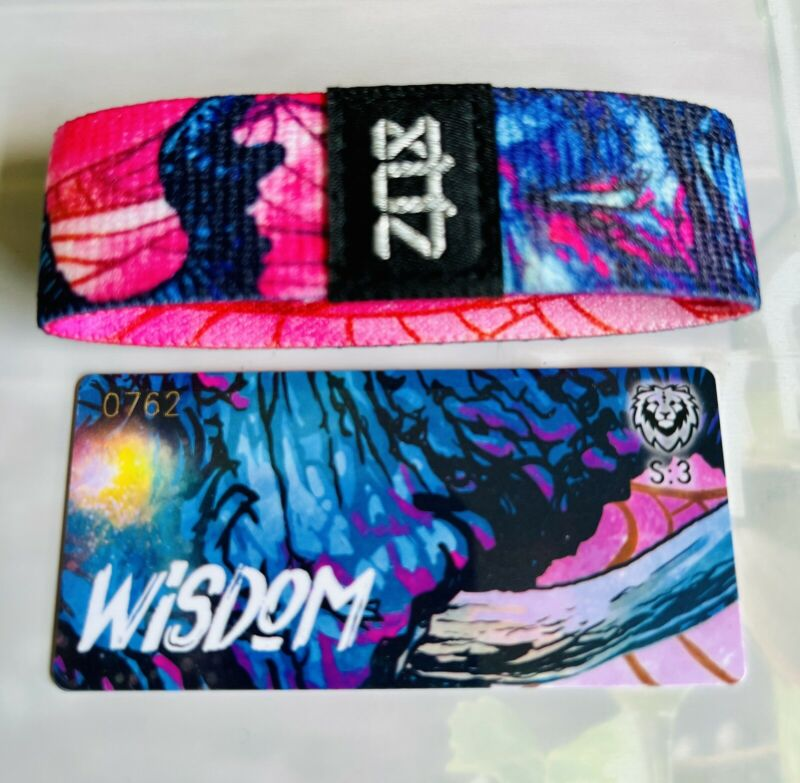 S:3 ZOX Strap WISDOM - Reversible Wristband - Elephant