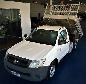 2009 Toyota Hilux Workmate Auto Ute - TIPPER Hoppers Crossing Wyndham Area Preview