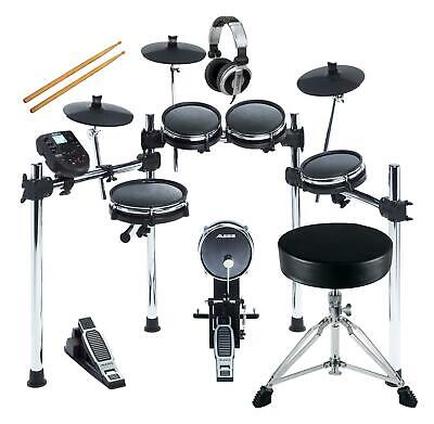 Alesis Surge Mesh Kit Set E-Drum Schlagzeug Choke Hocker Kopfhörer Fußmaschine