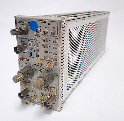 Tektronix 7d15 Frequency Counter Plug In 225 Mhz For 7000 Series Scope Tested