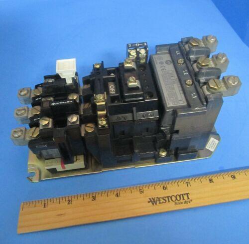Allen Bradley 509-COD Size 2 Motor Starter 45A 600V Ser B 120V Coil Contacts 98%