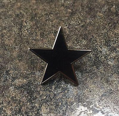 DAVID BOWIE BLACK STAR BLACKSTAR ENAMEL PIN BADGE | ALBUM ART | COLLECTORS ITEM