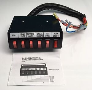 Sound Off Signal - 600 Series Switch Box