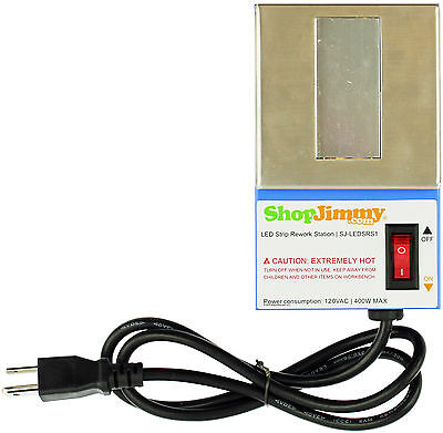 ShopJimmy LED Strip Rework Station - Single LED Replacement Tool