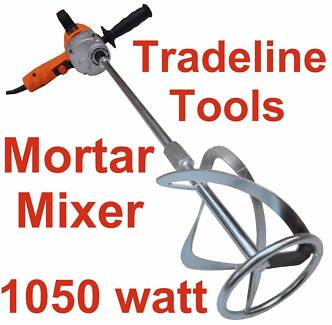 NEW MORTAR MIXER - CEMENT RENDER PAINT PLASTER CONCRETE - VARIABL