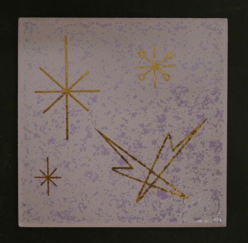 Starburst Tile Vintage Mid-Century Modery