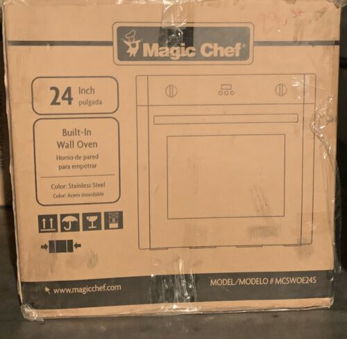 "Magic Chef MCSWOE24S 24"" Electric Built in Single Wall Oven"