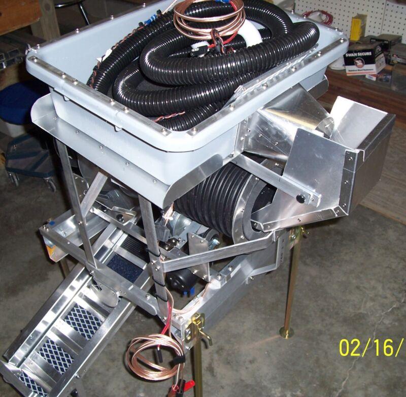 New 6 inch gold trommel wash plant portable electric 12 volt dc