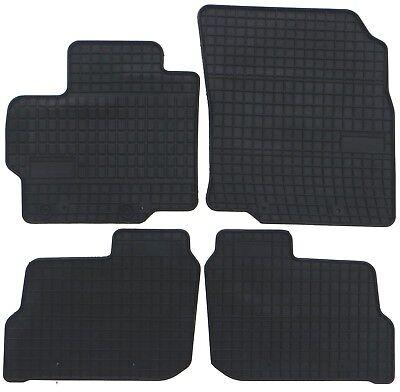 4 x Gummi-Fußmatten ☔ für MITSUBISHI L200 seitdem 2007