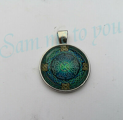 CELTIC BANDS, Pendant Necklace or Key Ring CELTIC CROSS Jewellery UK Fast -