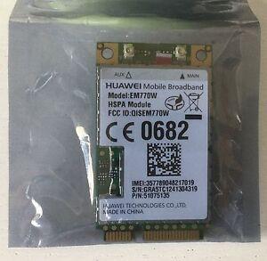 New Huawei EM770W - 3G/GPS/HSPA/WCDMA Mini PCI Express Card Wireless Module