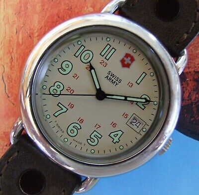 YOUR BEST PICK SWISS ARMY Watch~Mens Early CAVALRY Marlboro Verson~GET YOURS