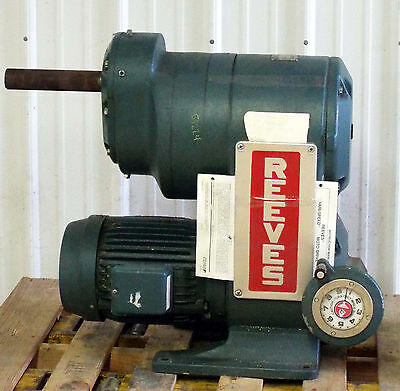 1 Used Reeves 5 Hp Size 0331 Moto Drive R377500-001-a Make Offer