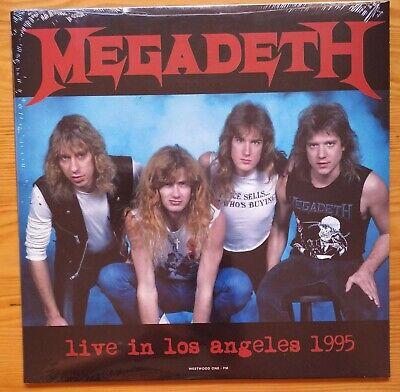 Megadeth Live In Los Angeles 1995 LP