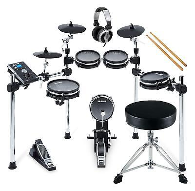 Alesis Command Mesh Kit SetE-Drum Schlagzeug Choke Hocker Kopfhörer Fußmaschine