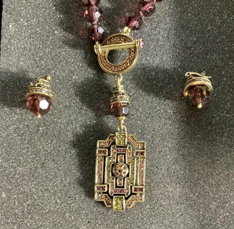 Heidi Daus Necklace & Earring Set