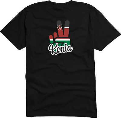 T-Shirt Herren - Flagge / Fahne - Kenia - Victory - Sieg - Fußball Sport Fans - Kenia Flagge T-shirt