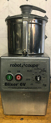 Robot Coupe Blixer 6v Healthcare Facility Blender Mixer Stainless Steel Blade