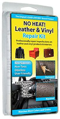 No Heat Liquid Leather   Vinyl Repair Kit Fix Holes Burns Rips Gouges