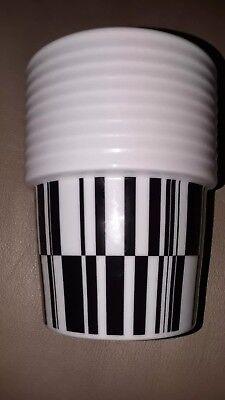 RORSTRAND DESIGN FLIPPA K - BLACK & WHITE, CONTEMPORARY CUP/GLASS/TUMBLER