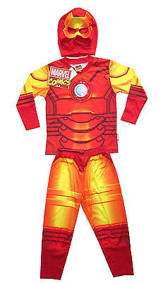 MARVEL IRON MAN boys toddler costume party outfit set Size S 3 yrs  - Iron Man Outfit