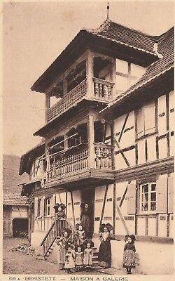 AK Berstett - Maison à galerie