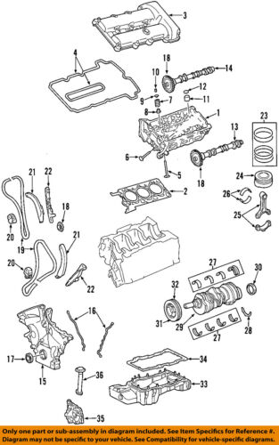 Lincoln Ford Oem 03 05 Ls Valve Cover Gasket 4r8z6584aa Sold Individually Ebay