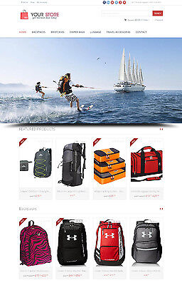 Travel Accessories Store - Next Generation Amazon Affiliate Website Ecommerce