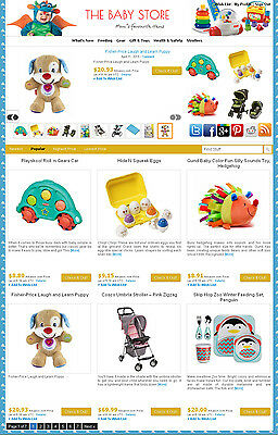 Baby Store - Ebay Amazon Commission Junction - Affiliate Website On Autopilot