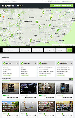 Classifieds Ads Website With Google Map