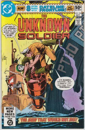 Unknown Soldier 244 VF/NM 9.0 Bronze Age