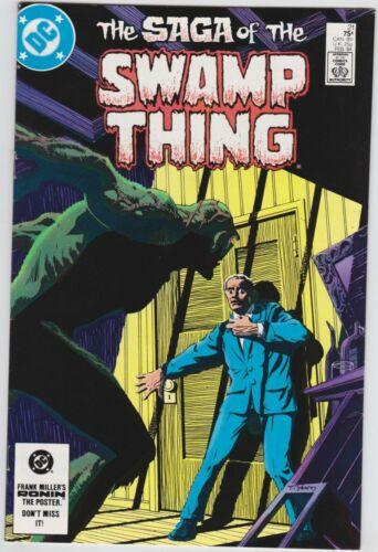 Saga of the Swamp Thing 21 VF+ 8.5 Copper Age New Origin