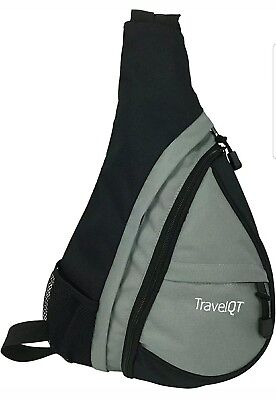 - TravelQT Cross Body Sling Shoulder Bag Backpack for Secure Multipurpose Travel