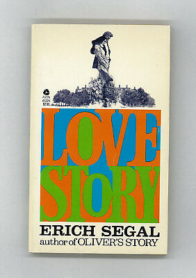 Vintage 1977 LOVE STORY by Erich Segal, Best-selling Romance Paperback Novel