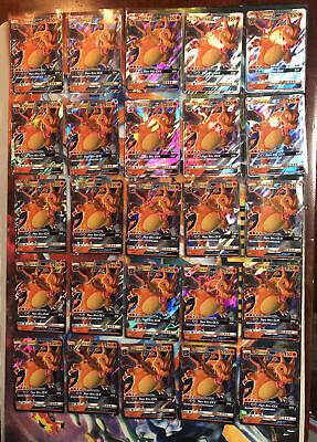 Pokemon Hidden Fates Promo Ultra Rare Holo Charizard GX SM211 Lot of 25