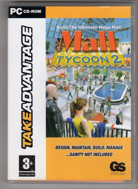 (GW126) Mall Tycoon 2 - 2003 Game CD