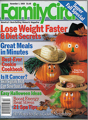 Family Circle 1999 Halloween Costumes Decor Hillary Clinton Bedrooms Recipes](Family Circle Magazine Halloween Recipes)