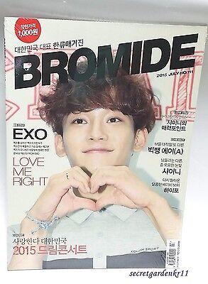 Bromide EXO SHINee BIG BANG : Magazine 2015 JULY no.111, CHEN, New love exact