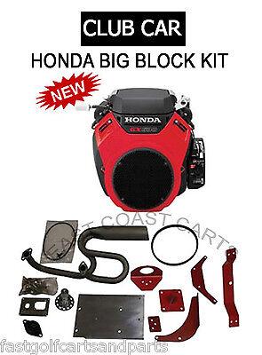 Club Car DS Golf Cart Honda GX630 20 HP Jakes Big Block Conversion Kit
