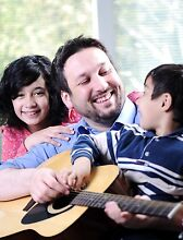 Award winning- FAMILY GUITAR LESSONS - Great Bonding time. Cronulla Sutherland Area Preview