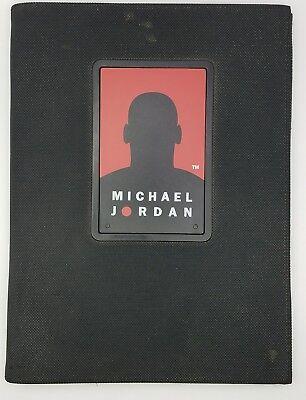 Vintage Michael Jordan Portfolio Folder With Notepad Rotating Calculator