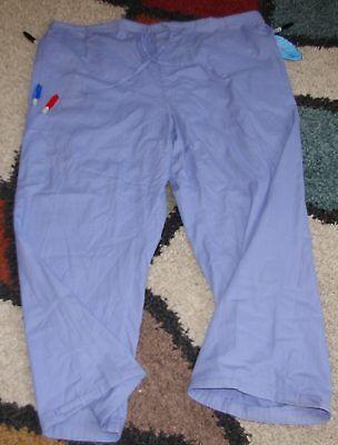 Frederick Drawstring Cargo Scrub Pant Tie cuff 5 pocket Ceil Sz 3X Style 211 5 Pocket Drawstring Cargo