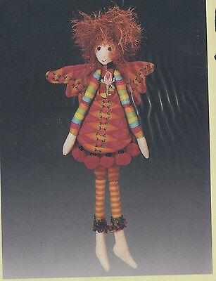 PATTERN - Pixie Dust - cute little cloth doll PATTERN - Magic - Little Pixie Clothes