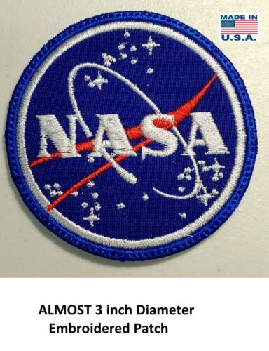 **LOVE IT OR ITS FREE** Aerospace EMBROIDERED PATCH, IRON ON, FREE SH