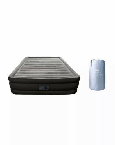 Double High Queen Inflatable Air Bed Mattress with Built In