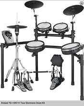 Roland TD-15KV V-tour electronic drum kit Calamvale Brisbane South West Preview