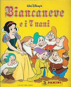 LOTTO-10-BUSTINE-FIGURINE-BIANCANEVE-E-I-7-NANI-1994-PANINI-NUOVE-E-CHIUSE